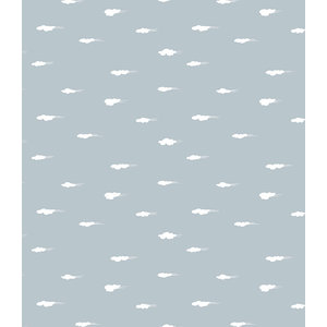 Lola Daydream Grey PVC Tablecloth, 140x140cm