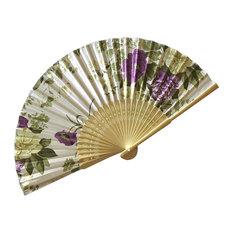 Chinese Retro Folding Fans Cosplay Handheld Fan Best Gift # 05