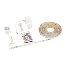 Regular Waterproof IP65 Multicolor Flexible LED Strip Light Kit, 16.4'