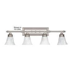 4-Light Vanity-Bright Satin Nickel
