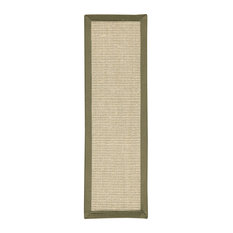 "Kinsley 9"" x 29"" Sisal Carpet Stair Treads, 100% Natural Sisal,"