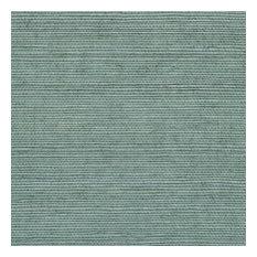 Wisteria Blue Grasscloth Wallpaper, Bolt
