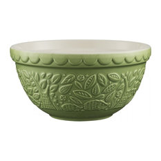 Mason Cash in The Forest Mixing Bowl, 21 cm, Green