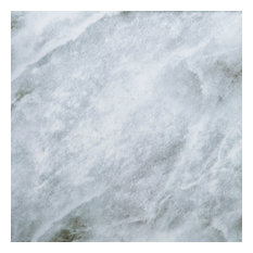 """11.8x11.8"""" Marble III Peel and Stick Wall Tile, White Marble, Set of 12"""