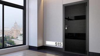 Высокоглянцевые панели для апартаментов бизнес-класса