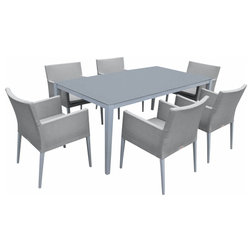 Transitional Outdoor Dining Sets by MangoHome