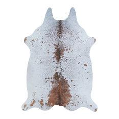 "Couristan Prairie Hides Geilo Ivory-Buck Area Rug, 6'4""x8'"