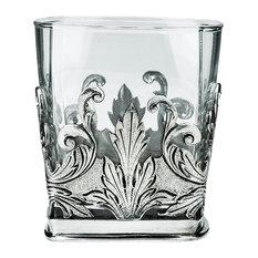 JD Pewter Renaissance Glass Tumbler