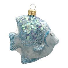 Tropical Fish Ornament, Blue