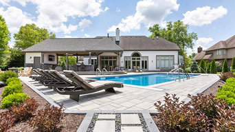 Swimming Pool, Outdoor Fireplace, Landscape & Hardscape