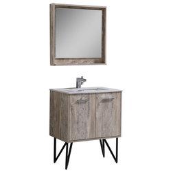 Vintage Rustic Bathroom Vanities And Sink Consoles by Kubebath