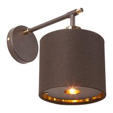 Balance Modern Wall Light, Brown
