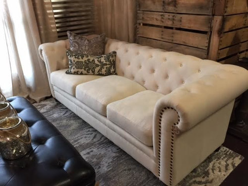 Furniture Lp Too Much Tufted, Tufted Living Room Furniture