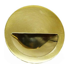 "Waterworks Bolinas 3"" Pull, Unlacquered Brass"