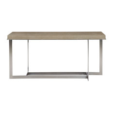 Bernhardt Mosaic Console Table, Dark Taupe Finish