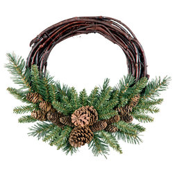 Rustic Wreaths And Garlands by VirVentures
