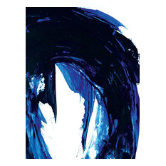 """""""Blue Waves IV Oil Painting""""Oil Painting Print on Wrapped Canvas"""