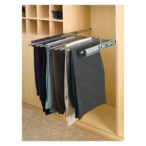 """Rev-A-Shelf PSC-3014 PSC Series 14"""" Depth and 30"""" Wide Pull Out Pants Rack"""