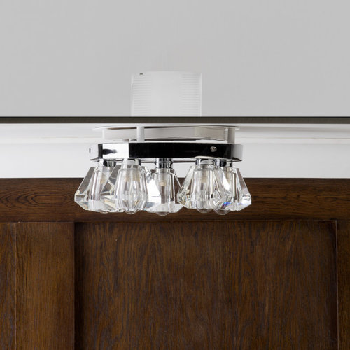 Bathroom Ceiling Lights with Extractor Fan from Litecraft