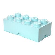 - Lego Förvaringslåda 8, Aqua - Leksaksförvaring