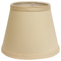 Slant Empire Hardback Lampshade With UNO Fitter, Oyster