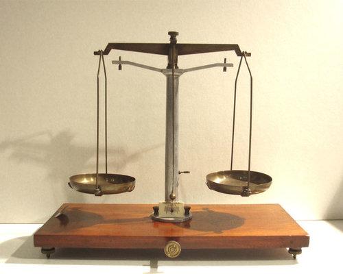 アンティーク天秤 - 部屋の装飾品