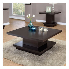 Coater Furniture   Coaster Coffee Table, Cappuccino   Coffee Tables