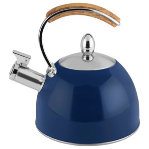 Presley Tea Kettle by Pinky Up, Navy