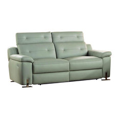 Modern Green Leather Sofas Houzz