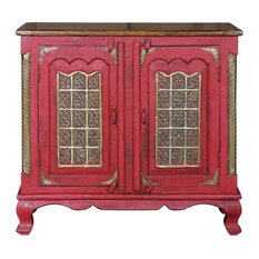 Aqdal Red Sideboard