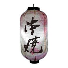 Japanese Sushi Restaurant Decoration Hanging Paper Lantern Lampshade, Sakura03