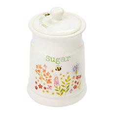 Cooksmart Bee Happy Ceramic Sugar Canister