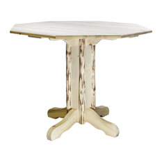 Montana Counter Height Pub Table Clear Lacquer Finish