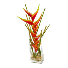 Nearly Natural Mini Heliconia Artificial Arrangement