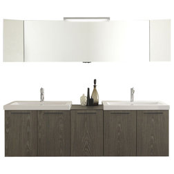Elegant Modern Bathroom Vanities And Sink Consoles by Warehouse Direct USA