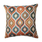 "Flicker Jewel 18"" Throw Pillow"