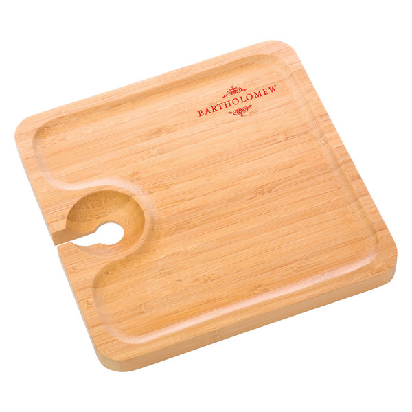 Bamboo Appetizer Plate