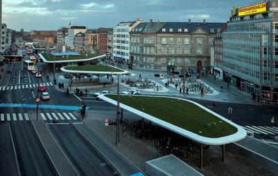 Arkitektur: Grønne elementer giver funktionelle løsninger