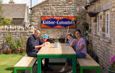 Visita privada: Una casa de campo inglesa con un interior sorprendente