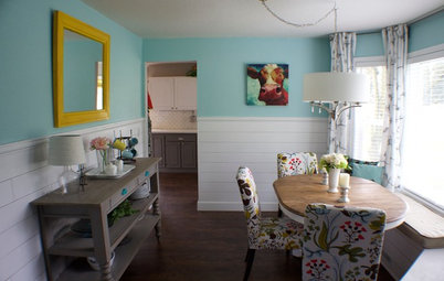 Room of the Day: A DIY Dining Room Full of Cheer
