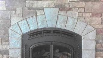 Quadrafire 7100 Wood Burning Fireplace