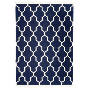 Classic Collection Tangier Area Rug, Navy Blazer, 230x170 cm