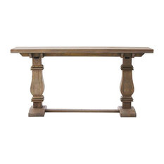 Aldridge   Aldridge Console Table, Antique Gray   Console Tables