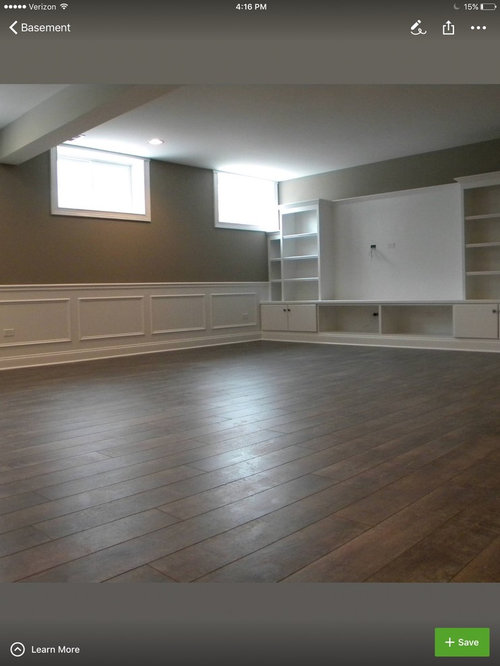 Which Wainscoting Works Best For Basements
