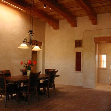 Southwestern style home