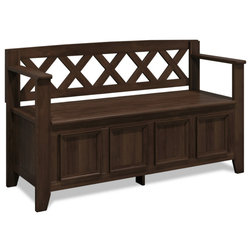 Transitional Accent And Storage Benches by Simpli Home Ltd.