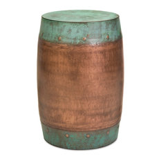 Rania Copper-Plated Stool