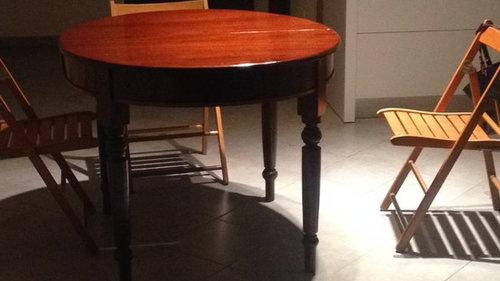 Sedie da abbinare a un tavolo antico - Sedie da abbinare a tavolo fratino ...