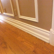 WAINSCOTTING, TRIM MOULDINGS, AND BASEBOARD