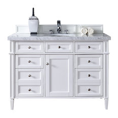 """Brittany 48"""" Single Cabinet Cottage White - Base Cabinet Only"""
